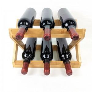 Bamboo Foldable Wine Rack