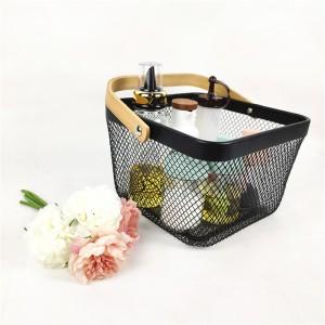 Metal Mesh Countertop Fruit Basket
