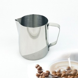 Stainless Steel Coffee Milk Steaming Frothing Jug