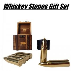 Stainless Steel Whiskey Stones Gift Set