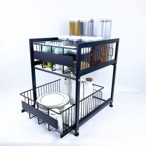 2 Tier Pull Out Basket