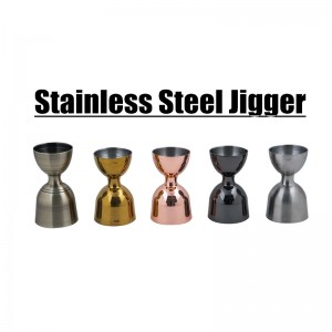 Stainless Steel Bar tools Double Jigger