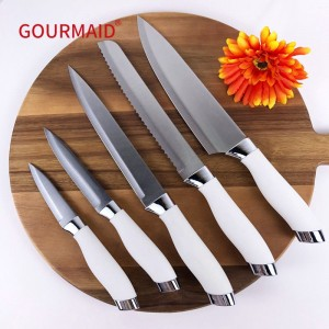 Stainless Steel Knife Set 5pcs
