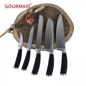 5pcs Kitchen Stainless Steel Knife Set