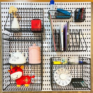 Home Office Pegboard Organizer