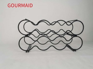 Stackable Round Classic Style Wine Rack