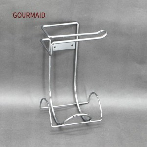 Metal Hanging Toilet Roll Caddy