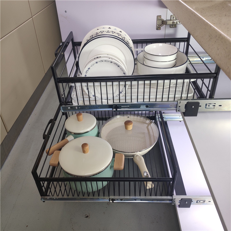 10 Awesome Ways To Add Pull Out Storage In Your Kitchen Cabinets