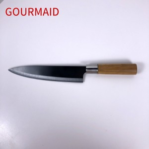 8.5 inch kitchen black ceramic chef knife