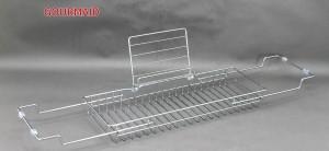 Metal Extending Sides Bathtub Rack