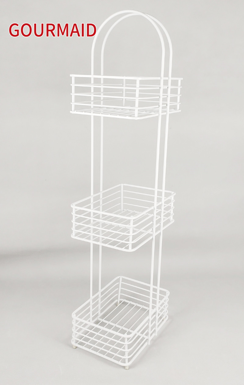 White Free Standing Toilet Roll Caddy Featured Image