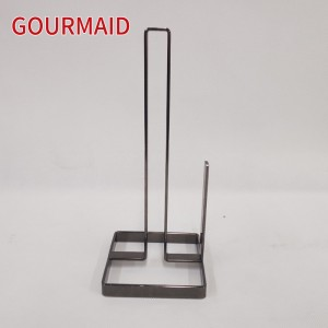 Polished Nickel Kitchen Paper Towel Stand