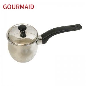 stainless steel Turkish warmer with cover