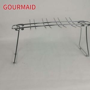Wire Folding Stemware Drying Rack