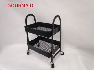 Small 2 Tier Utility Cart
