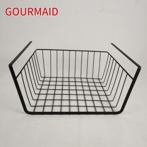 Bronze Under Shelf Steel Wire Basket