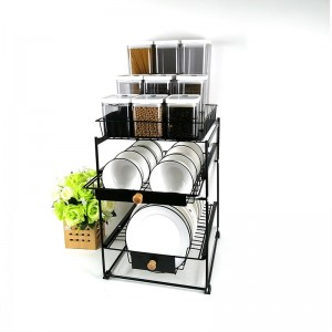 3 Tier Pull Out Basket
