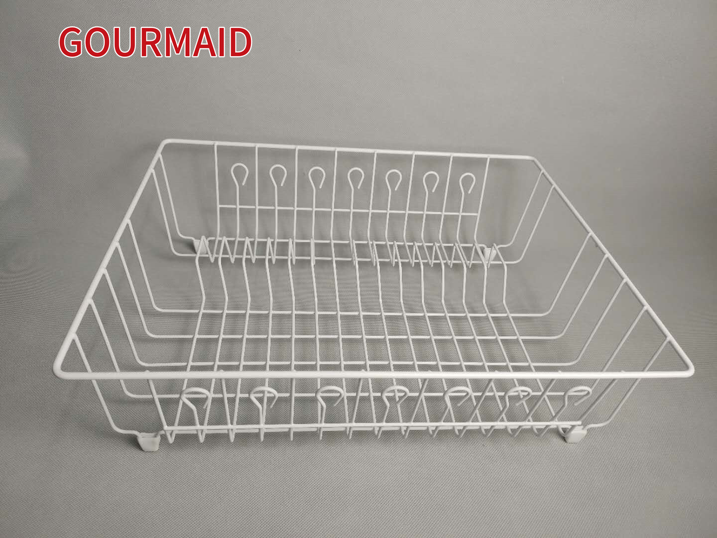 White Steel Dish Drying Drainer Featured Image