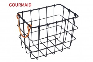 Rectangle Small Wire Fruit Basket