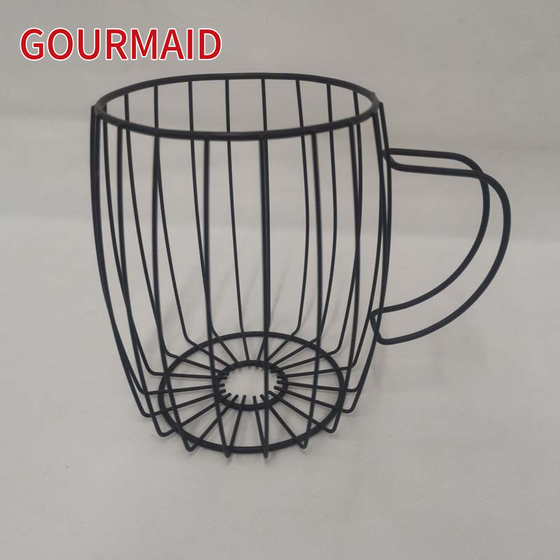 43-Wire Coffee Mug Pod Basket