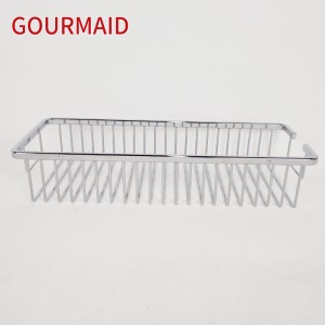 Single Tier Stainless Steel Shower Caddy