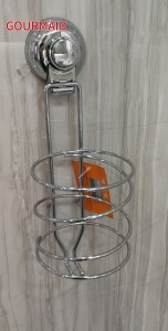 Metal Hair Dryer Holder With Suction
