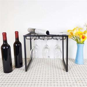Stackable Wine Glass Metal Shelf