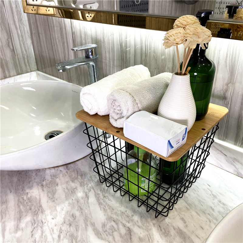 Wire Basket – Storage Solutions for Bathrooms