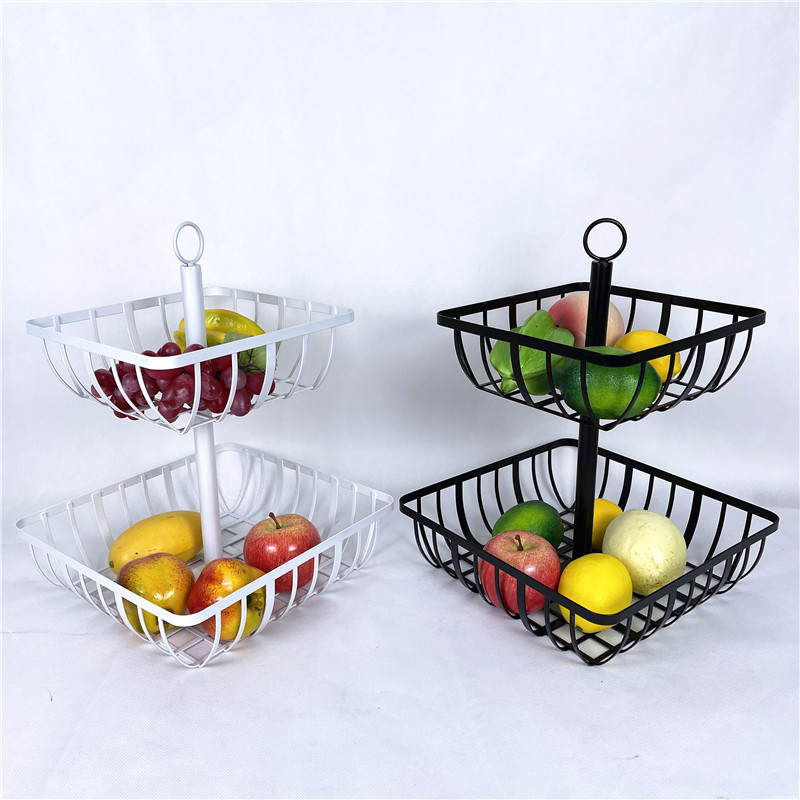 Two Tier Fruit Storage Basket Featured Image