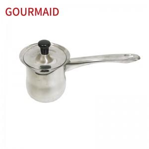 polished Turkish warmer with hollow handle