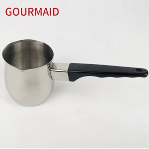 non-electric stainless steel butter melting pot