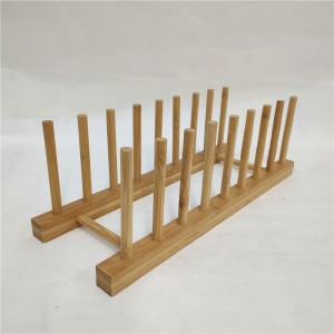 Bamboo Dish Drying Rack