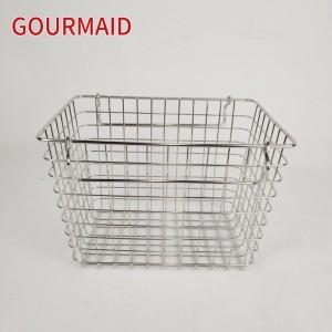 Stainless Steel Chrome Wire Storage Basket