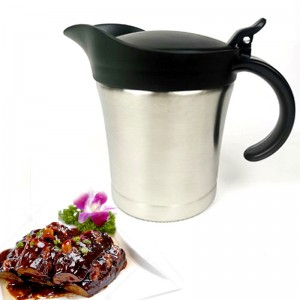 Stainless Steel Double Wall Gravy Boat